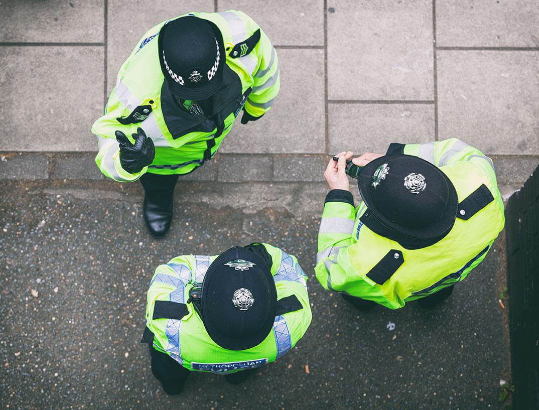 Metropolitan Police Offices In London investigation standards